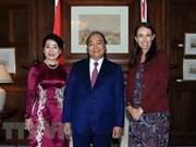 Vietnam y Nueva Zelanda se dirigen hacia asociación estratégica