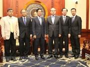 Ciudad Ho Chi Minh y Phnom Penh consolidan buenas relaciones de vecindad