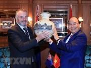 Premier vietnamita dialoga con presidente de la Cámara de Representantes de Nueva Zelanda