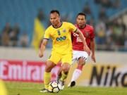 Club de fútbol de Vietnam empata sin goles en Copa AFC 2018