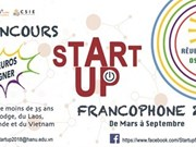 Ya está abierta la inscripción para concurso de Start-up Francophone