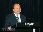Premier vietnamita interviene en Foro empresarial con Australia