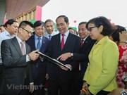 Presidente vietnamita resalta desempeño de la prensa