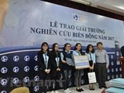 Vietnam honra a destacadas investigaciones sobre Mar del Este