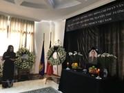 En numerosos países actos en homenaje a Phan Van Khai