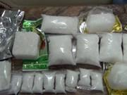 Guardafronteras de Quang Tri desmantelan red de drogas transnacional