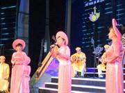 """Provincia vietnamita por preservar """"Don ca tai tu"""", patrimonio Cultural Inmaterial de la Humanidad"""