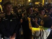 Tailandia: Manifestantes exigen celebración de elecciones generales este año