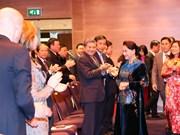 Presidenta del Parlamento de Vietnam destaca relaciones con Países Bajos