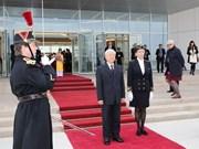 Secretario general del PCV inicia visita a Francia