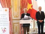 Francia y Vietnam celebran 45 años de relaciones diplomáticas en París