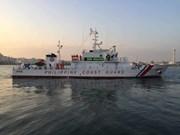 Filipinas recibe más barcos patrulleros fabricados en Japón