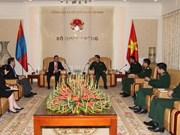 Vietnam fortalece cooperación en defensa con Japón, Mongolia y México