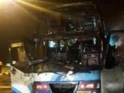 Accidente de bus en Tailandia deja al menos 20 muertos