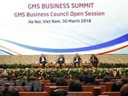 Inauguran reunión ampliada del Consejo de Negocios de la GMS