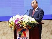 Premier vietnamita copreside plenario de Cumbre de Negocios  de GMS