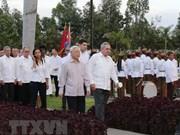 Secretario general del PCV continúa actividades en Santiago de Cuba
