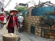 Comuna de pinturas murales, emergente destino turístico en Quang Binh