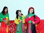 Estudiantes vietnamitas presentan cultura nacional en Camboya
