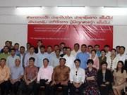 Vietnam respalda a periodistas laosianos en mejorar habilidades profesionales