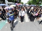 Partidos políticos en Tailandia comienzan actualización de sus miembros