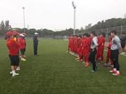 Vietnam con la mira en lo alto de Copa Asiática de fútbol femenino