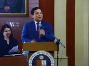 Funcionario filipino destaca el papel del Foro de Boao
