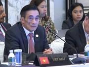 ASEAN por garantizar crecimiento económico sostenible y estabilidad financiera