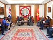 Vietnam y Cuba refuerzan cooperación en deporte