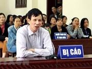 Condenan a prisión a individuo con intención de subvertir administración popular de Vietnam