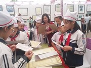 Exhiben documentos históricos sobre Truong Sa y Hoang Sa