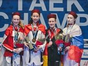 Taekwondista vietnamita gana medalla en el Mundial Juvenil 208