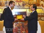 Hanoi y ciudad griega de Édessa por promover cooperación