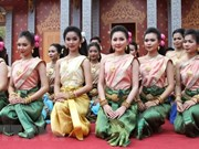 Camboya, Laos, Myanmar y Tailandia celebran tradicional festival de año nuevo