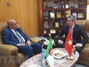 Intensifican cooperación multisectorial entre Vietnam y localidad argelina