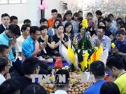 Celebran en provincia vietnamita festival tradicional de Laos