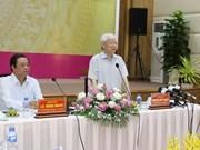 Dirigente partidista vietnamita pide a Dong Thap impulsar reforma de aparato administrativo