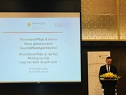 Delegación alemana busca cooperación comercial con Vietnam