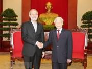 Vietnam aspira reforzar lazos tradicionales con Irán, afirma máximo dirigente partidista