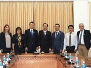 Ciudad Ho Chi Minh y su similar de Édessa de Grecia buscan una mayor cooperación