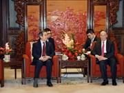 Vietnam y China trabajarán para fomentar lazos bilaterales