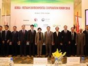 Vietnam y Sudcorea fortalecen cooperación en materia ambiental