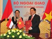 Vietnam e Indonesia trazan medidas para profundizar cooperación bilateral