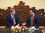 Óblast de Kaluga (Rusia) favorecerá actividades de empresas de Vietnam