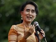Consejera del Estado de Myanmar comienza visita oficial a Vietnam