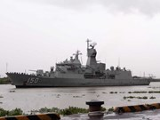 Buques de la Armada australiana visitan Ciudad Ho Chi Minh