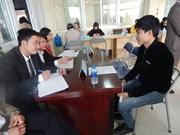 Brindan oportunidades de empleo para trabajadores vietnamitas que culminaron contratos en Sudcorea