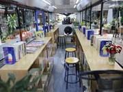 Biblioteca en autobús lanzada en Ciudad Ho Chi Minh