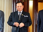 Samdech Say Chhum reelecto como presidente del Senado de Camboya
