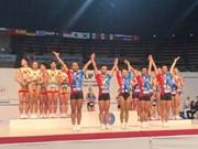 Vietnam conquista tres medallas de oro en la Copa Mundial de Aeróbic Suzuki